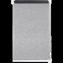 Store enrouleur voile gris 62x170cm-EASY VOILE