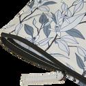 Pochette motifs fleurs d'oranger 15X19 cm-ALEXIA