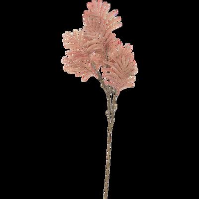 Branche artificielle rose H87cm-FOUGERE