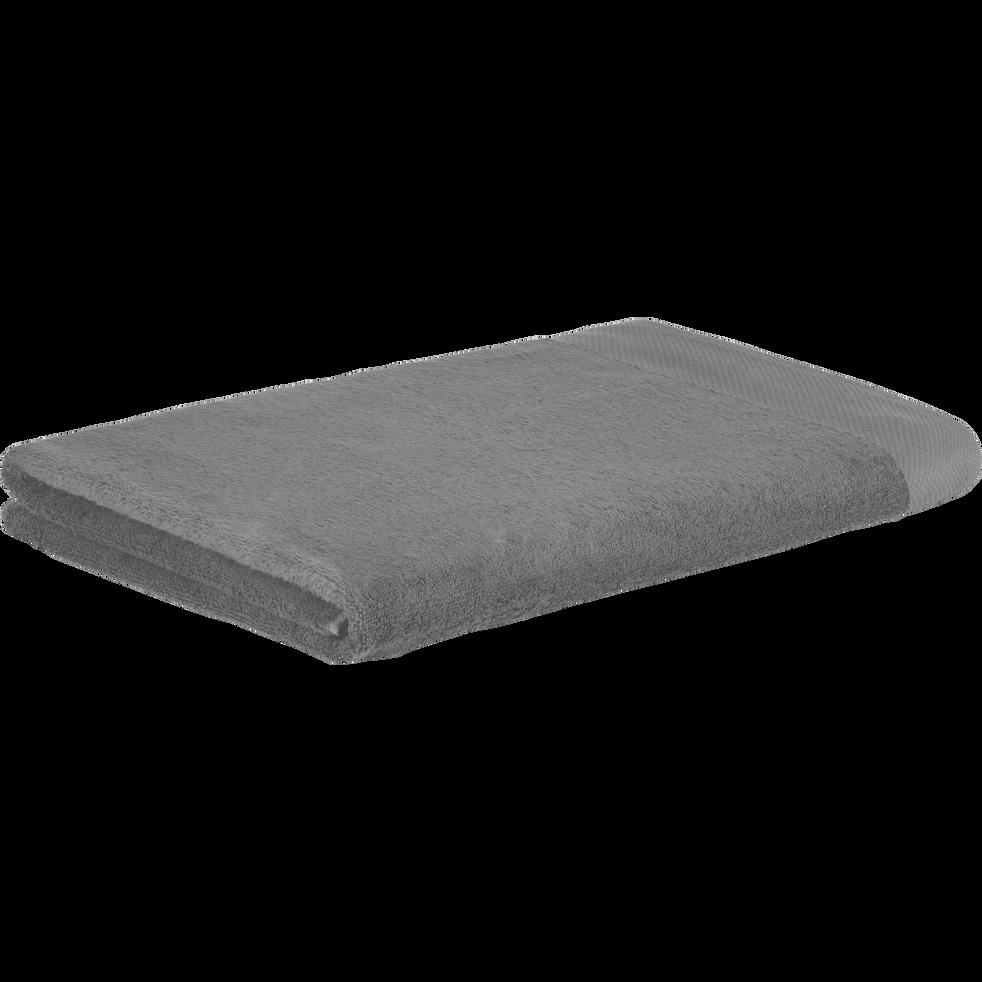 Drap de bain en coton 100x150cm gris restanque-AZUR