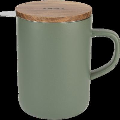 Tisanière en grès vert 47,5cl-ASSAM