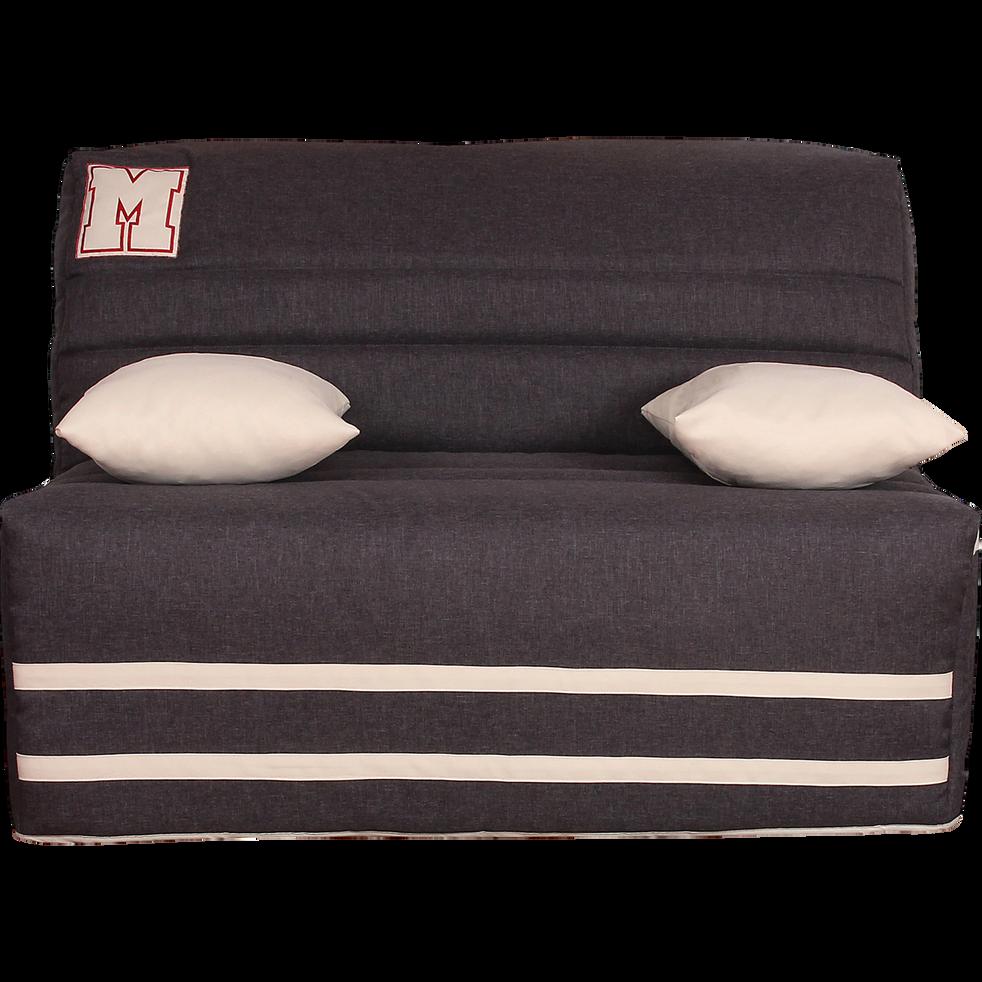 housse pour bz 140cm anthracite avec poche de rangement lat rale ted catalogue storefront. Black Bedroom Furniture Sets. Home Design Ideas