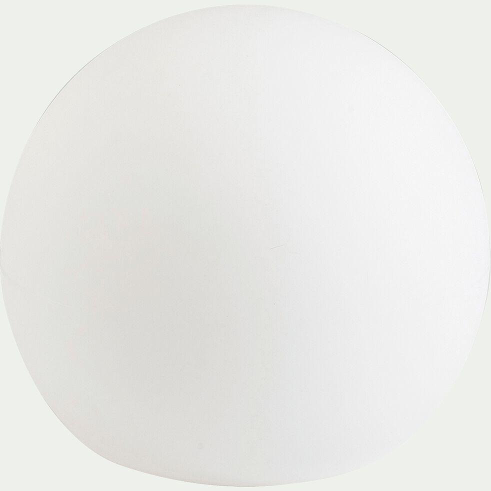 Sphère lumineuse d'extérieur - blanc D40cm-BULY 40