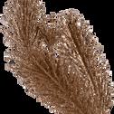 Branchage artificiel de sapin cuivré H80cm-BEIDA