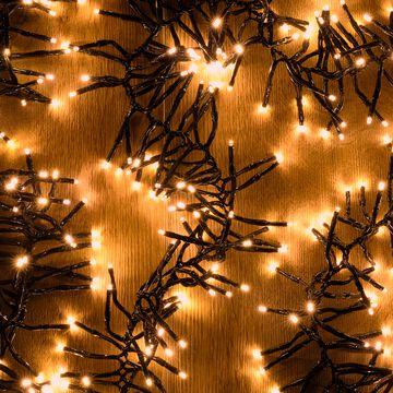 Guirlande électrique - D10x420cm jaune-ANDRIA