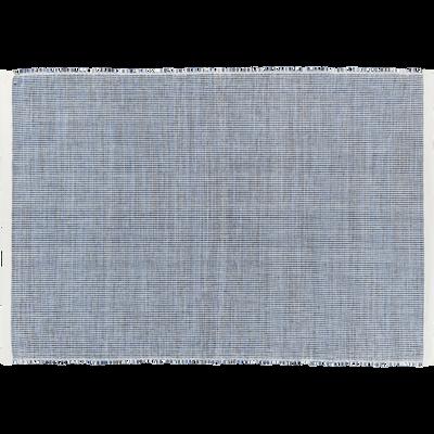 Set de table en coton bleu 45x35cm-TIMOUR