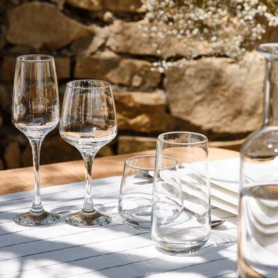 Coffret de flûtes à champagne en verre 23cl-LAL