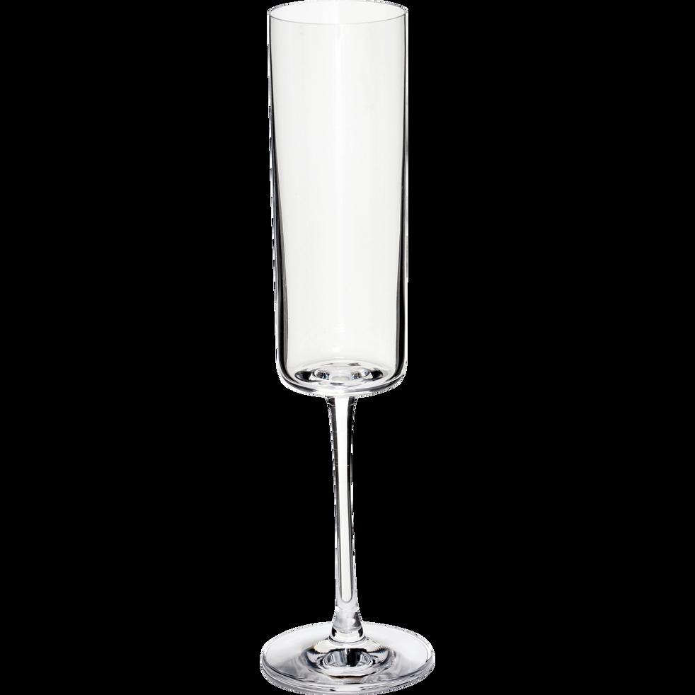 Flûte à champagne en verre 17cl-CELLA