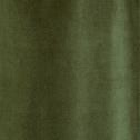 Rideau à oeillets en velours vert cèdre 140x250cm-EDEN
