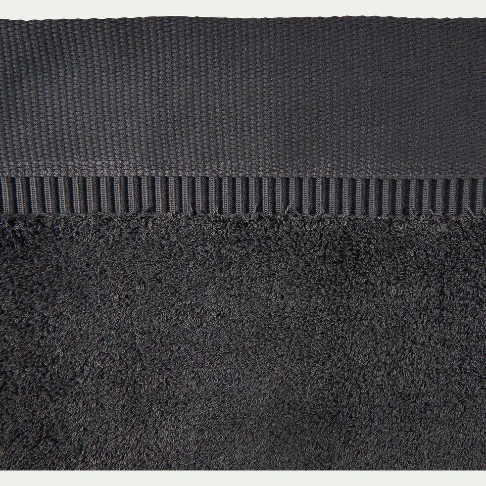 Serviette invité bouclette en coton égyptien - gris 30x50cm-ARROS