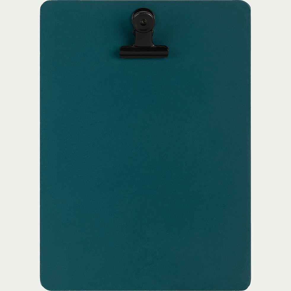 Porte-bloc format portrait Bleu niolon-SORYS