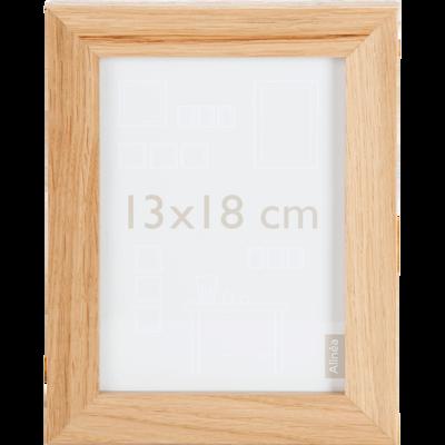 Cadre photo naturel 13x18cm-Chêne