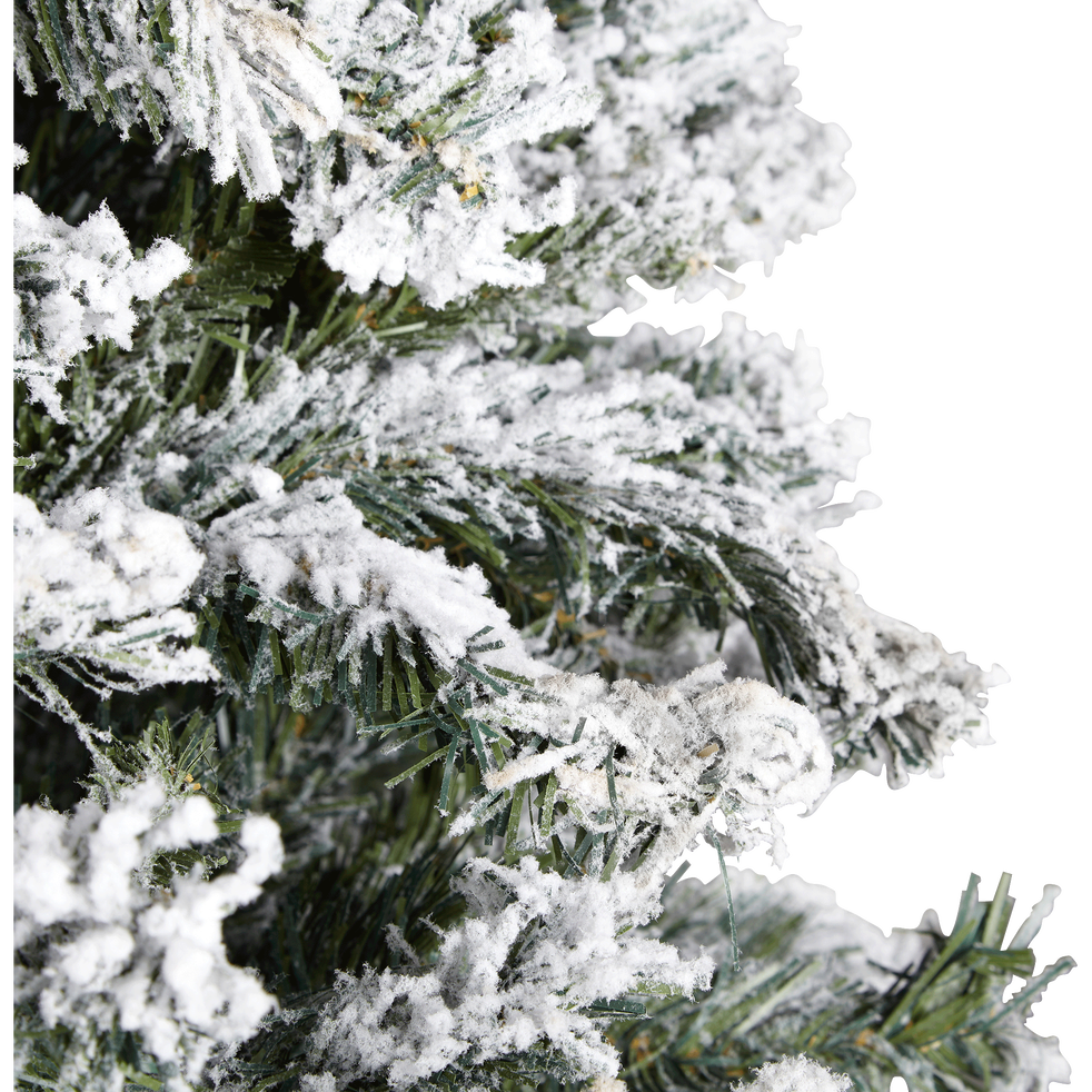 Sapin artificiel enneigé 180cm-LONDRA