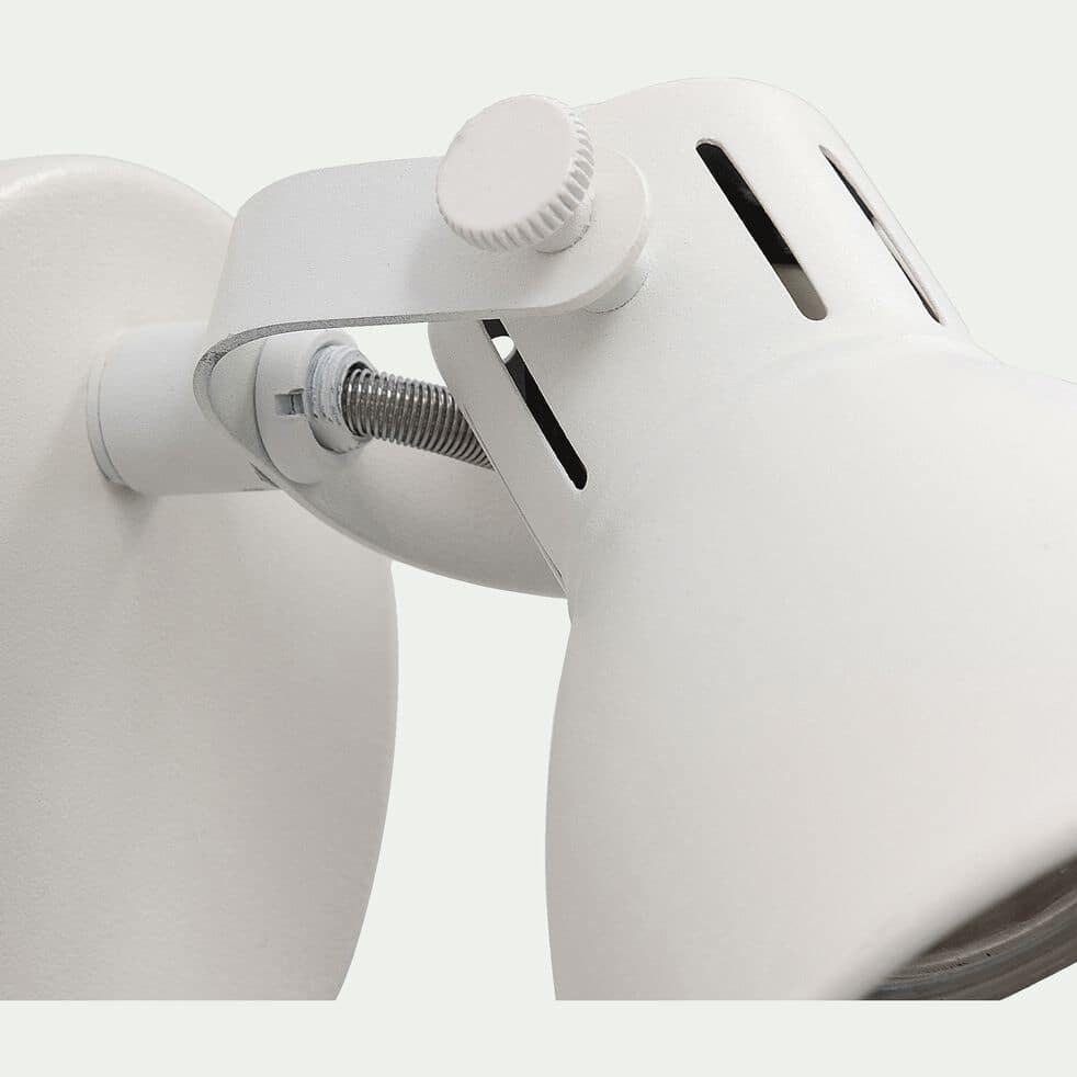 Spot LED D10xH10cm - blanc-SERAS2