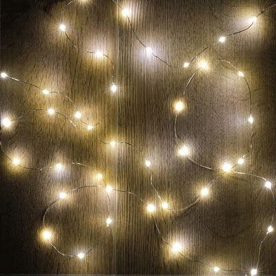 Guirlande électrique - D1x195cm jaune-LECITA