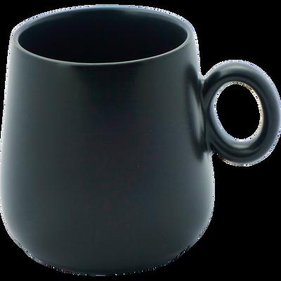 Mug en porcelaine noire mat-OSAKA