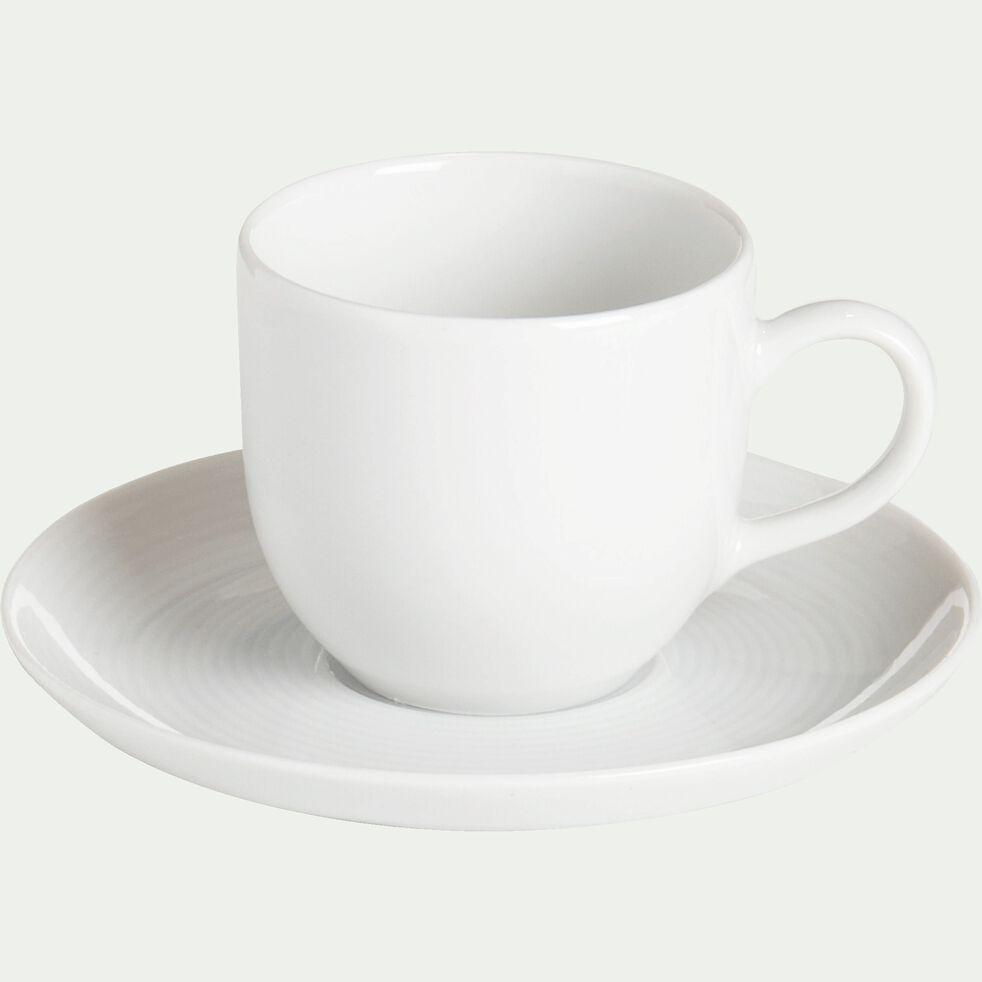 Tasse avec sous-tasse en porcelaine qualité hôtelière 12cl-Eto