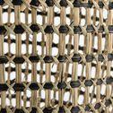 Panier en jonc de mer - naturel et noir D30xH25cm-CEOR