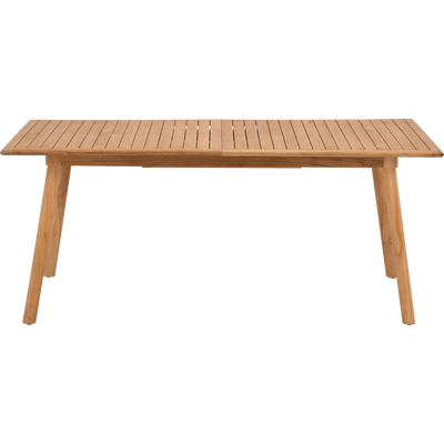 Table de jardin extensible en Teck massif FSC (6 à 10 places)-DUNE