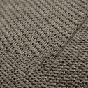 Tapis intérieur et extérieur - gris 140x200cm-Kelly