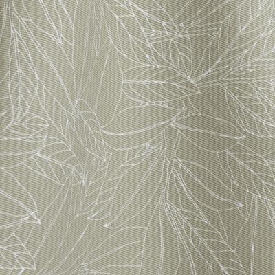 Nappe en coton blanc nougat 140x250cm-LAURIER