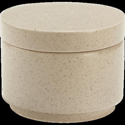 Boîte en céramique blanche L9xH12cm-CANOPE