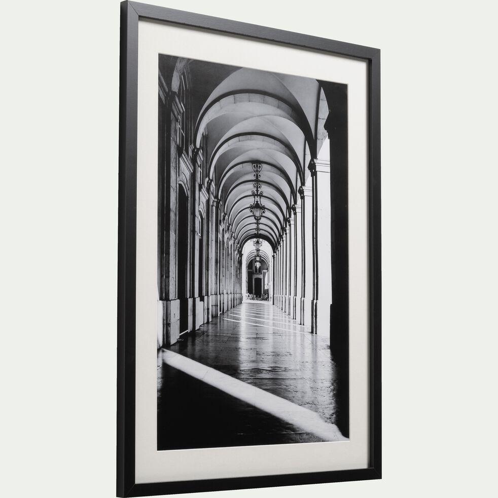 Image encadrée noir et blanc 50x70cm-ANDATI