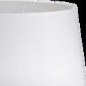 Abat-jour tambour blanc capelan-MISTRAL