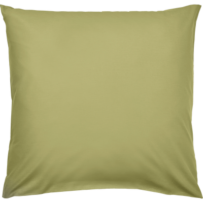 Lot de 2 taies d'oreiller en coton Vert guarrigue 65x65cm-CALANQUES