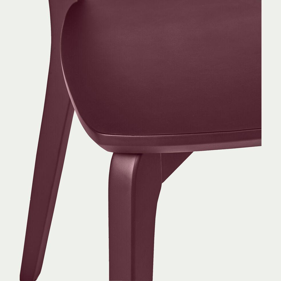 Chaise en bois - rouge sumac-SUZIE