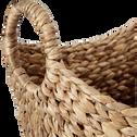 Panier en jacinthe d'eau L40xl30cm-FABA
