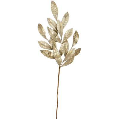 Branchage artificiel doré L48cm-TUSCA