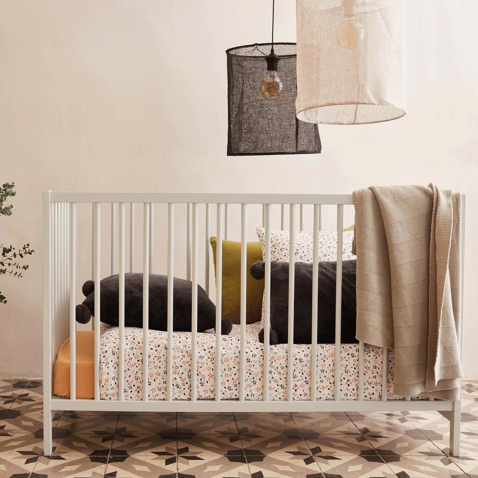 Housse de couette bébé 100x140cm et 1 taie d'oreiller-ANNA