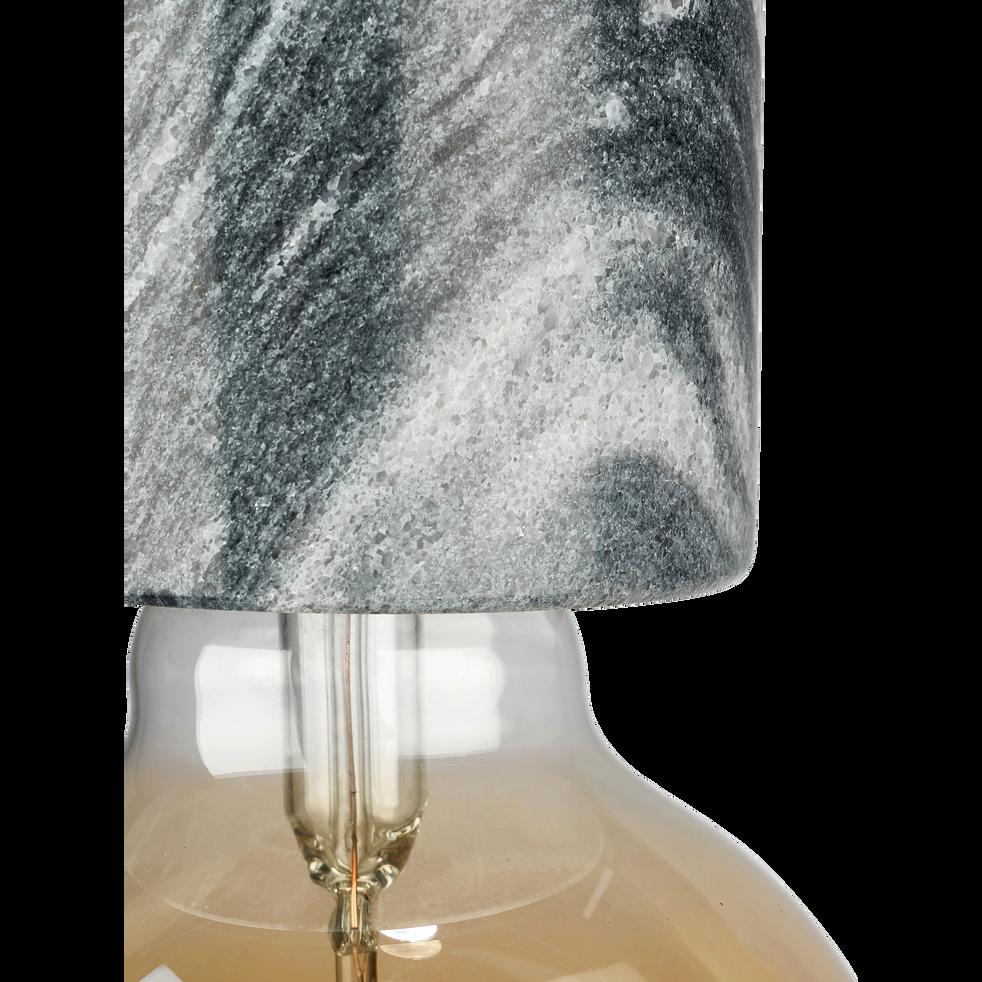 Suspension en marbre gris H8,5xD6,5cm-PRAO