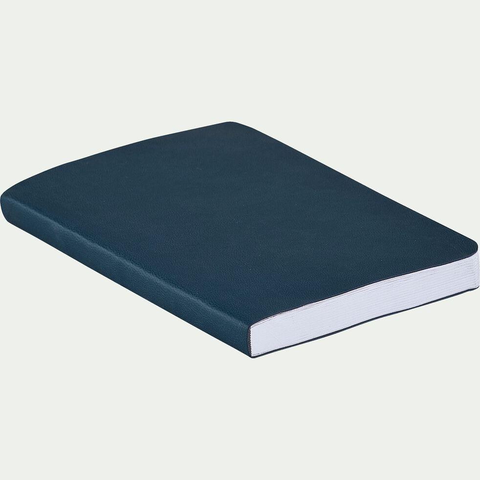 Carnet format A6 uni - bleu niolon-Myrthos