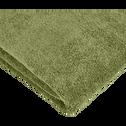 Drap de douche 70x140cm vert olivier-AMBIN