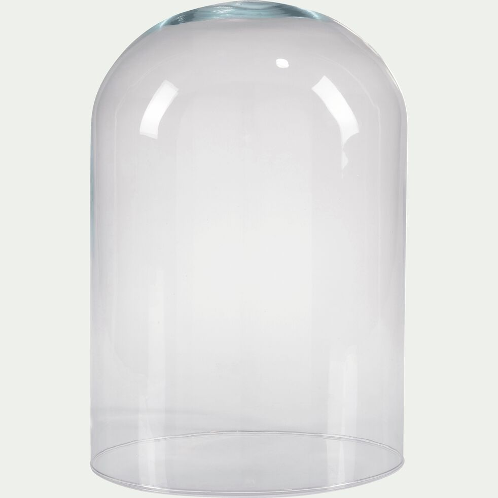 Cloche en verre - transparent H28cm-LAGOA