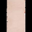 Tapis imitation fourrure rose argile 60x110 cm-ROBIN