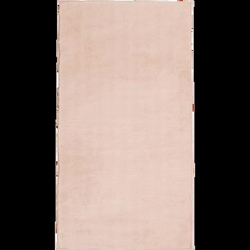 tapis imitation fourrure rose argile 60x110 cm robin. Black Bedroom Furniture Sets. Home Design Ideas