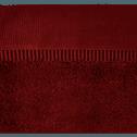 Serviette invité 30x50cm rouge sumac-ARROS