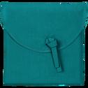 Lot de 2 taies d'oreiller en coton Bleu niolon 50x70cm-CALANQUES
