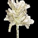Branchage artificiel champagne L73cm-GELMIM