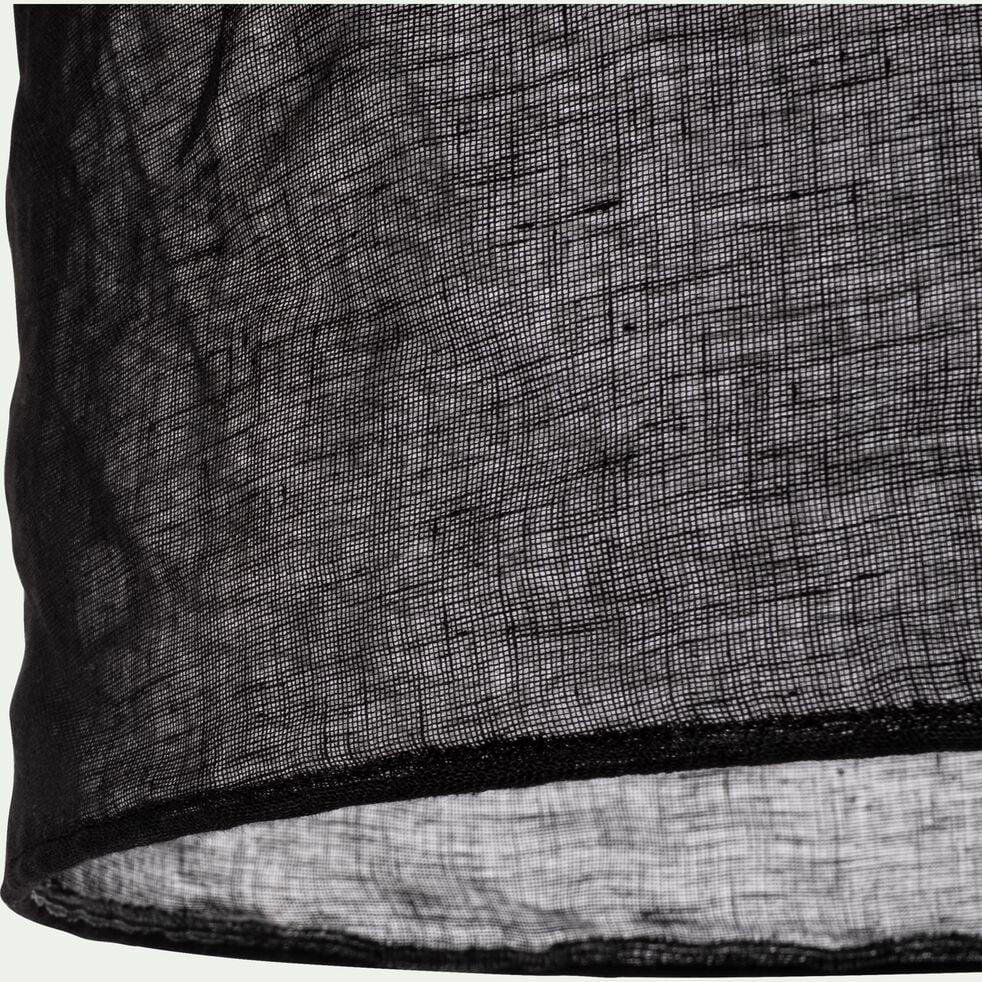 Suspension en lin noir D35cm-ORMES