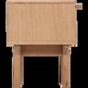 Chevet 1 tiroir plaqué chêne-PIASTRE