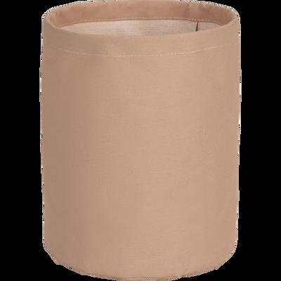Panier à linge rose H48cm-SAVE