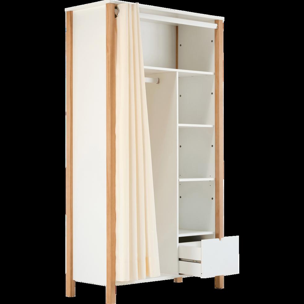 armoire penderie en bois pour enfant  alouette  100x180