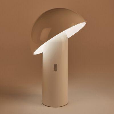 Lampe d'extérieur tactile led D16,50xH25,50cm - blanc-ENOKI