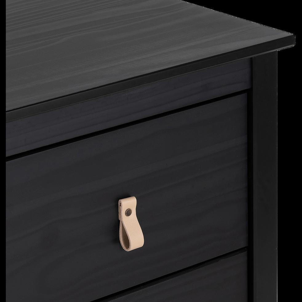 Commode 3 tiroirs pin massif-LISON