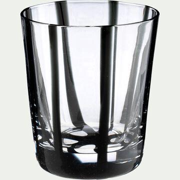 Verre à eau D8xH9cm - noir 19,5cl-MADERE