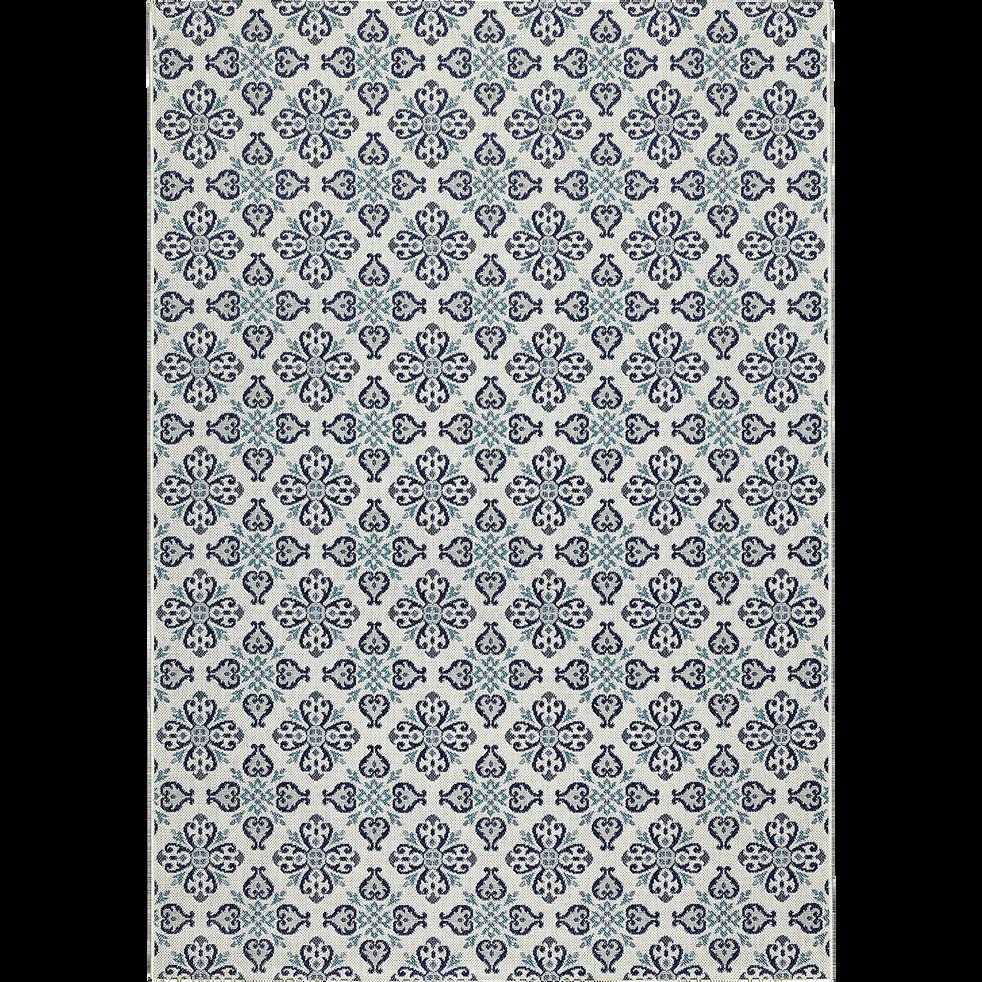Tapis intérieur et extérieur carreaux de ciment 120x170cm-CAROSIM 1